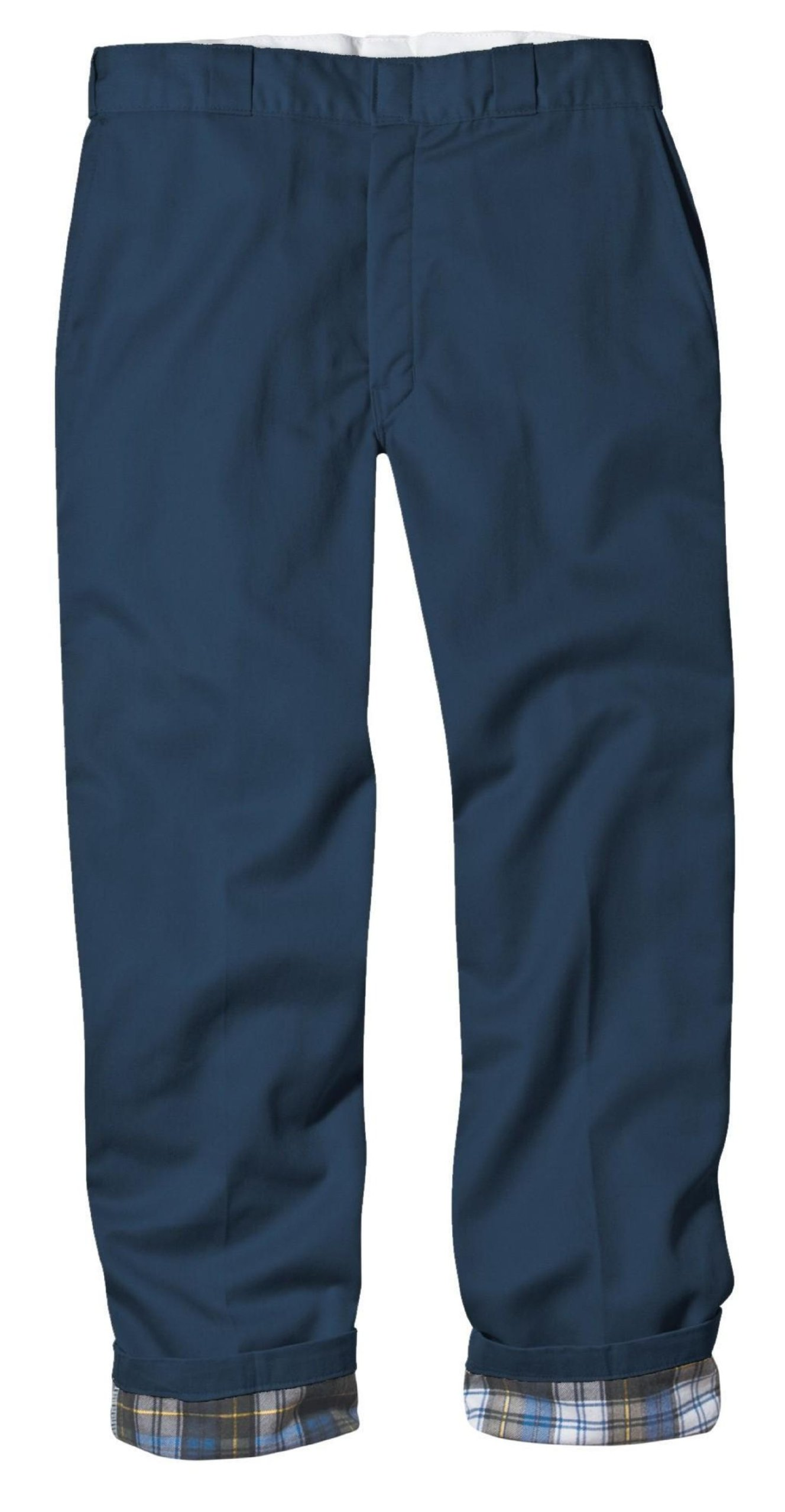 Dickies Men's Relaxed Fit Flannel-Lined Work Pant, Navy, 34X34