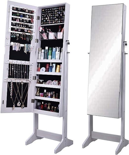 Standing Mirror Jewelry Armoire Amazon - almoire