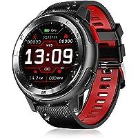 Senbos Reloj inteligente deportivo para hombre, digital, IP68, resistente al agua, recordatorio de APP para deportes al…