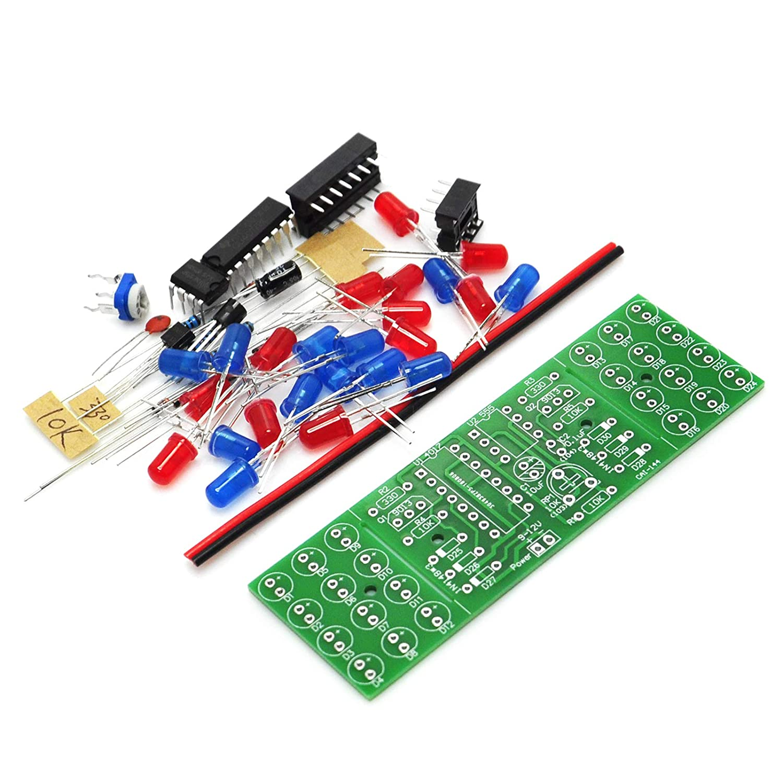 Gikfun Rouge Bleu Dual-color Detonation lumi/ère clignotante DIY Kit /électronique pour sadapter pour Arduino Ek1936u