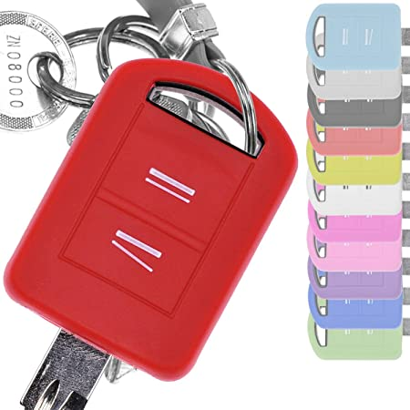 Soft Case Silikon Schutz Hülle Auto Schlüssel Rot Elektronik
