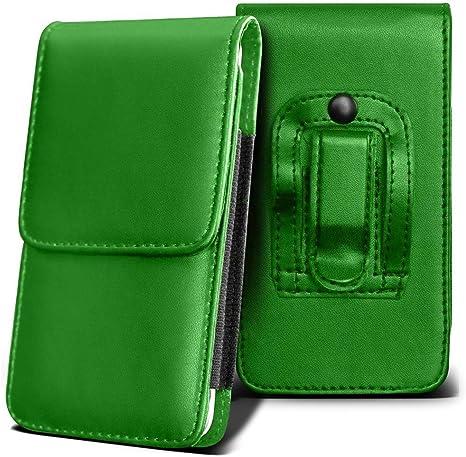 Vertu Aster Holster Case - (Green)  Universal Vertical Pouch Flip ...