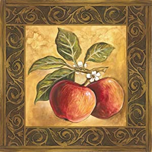 SmartCows Apple Orchard Vintage Tin Signs Retro Metal Plate Wall Decor Funny Coffee Bar Signs 12x12 Inches