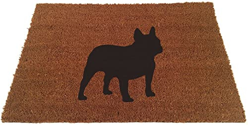 French Bulldog Silhouette Doormat 24 x35