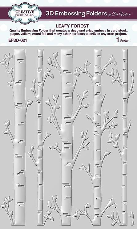 Birch Tree Forest Metal Die Cuts Sue Wilson Cutting Dies Woods Frame