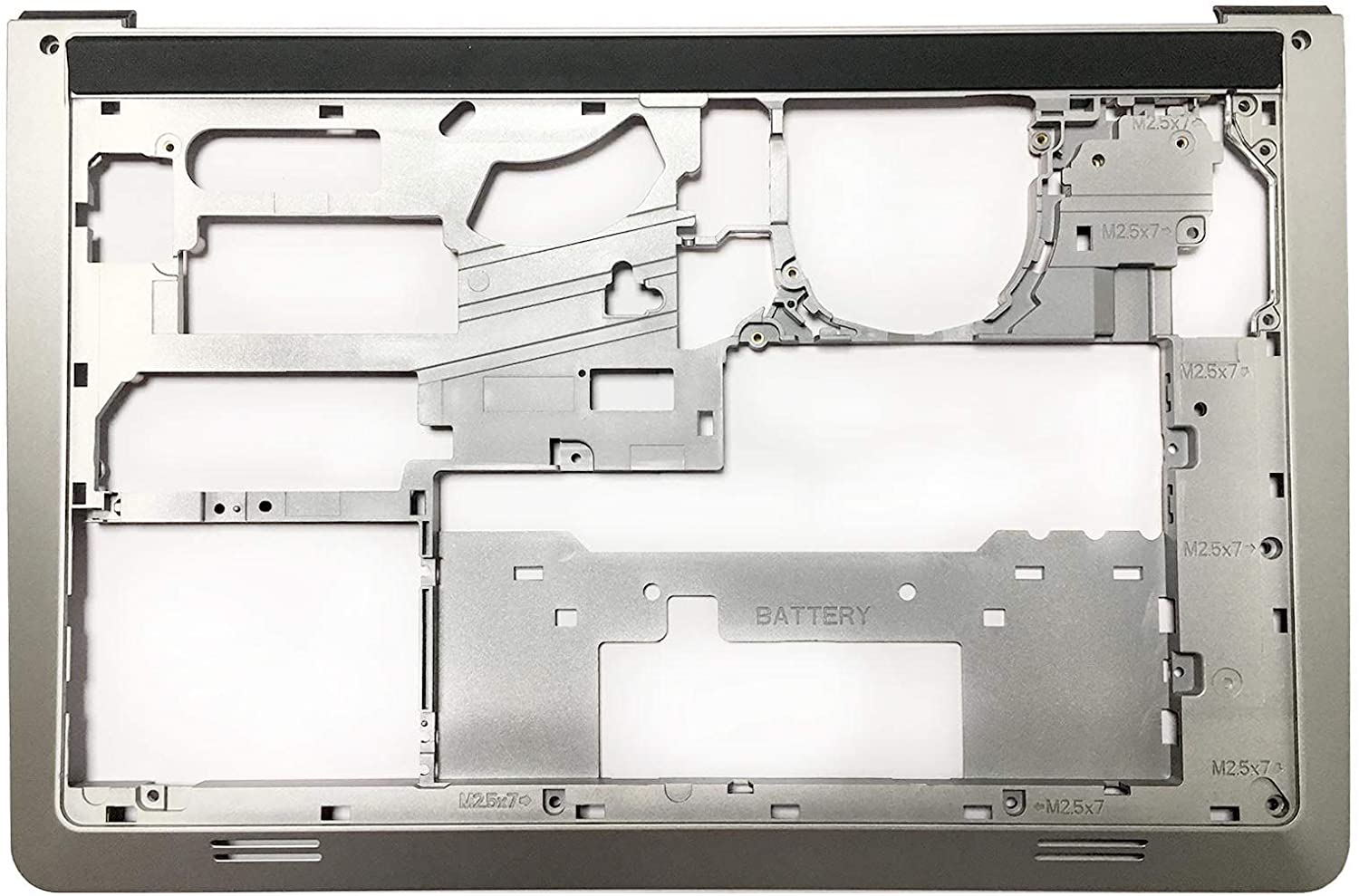 lenboes Replacement Laptop Bottom Base Midframe Lower Case Enclosure Chassis for Dell Inspiron 15 5542 5543 5545 5547 5548 006WV6