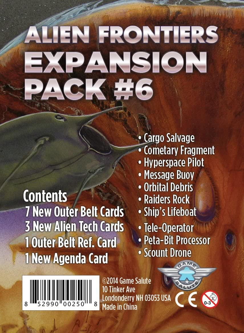 Expansion Pack 7 Alien Frontiers