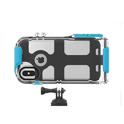 innovative design 14ad5 b4ad5 ProShot Touch - Waterproof Case Compatible with iPhone Xs Max and  Compatible with All GoPro Mounts