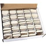Hongso CRCB48 Ceramic Briquettes Replacement for Lynx L27 Gas Grill 48-Piece per box