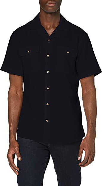 Only & Sons Onsandrew SS Reg Waffle Solid Shirt Camisa para Hombre: Amazon.es: Ropa y accesorios