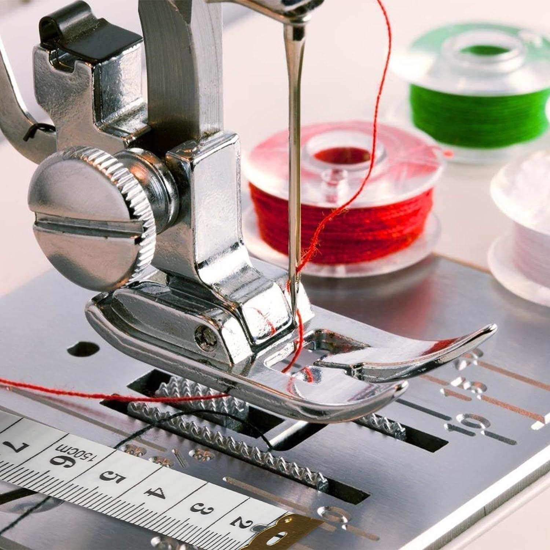 4 piezas Gu/ía de Costura Magn/ética JOOPOM Prensatelas para M/áquina de Coser Fuerte Dom/éstica con Pies de Prensa Accesorios para Costura