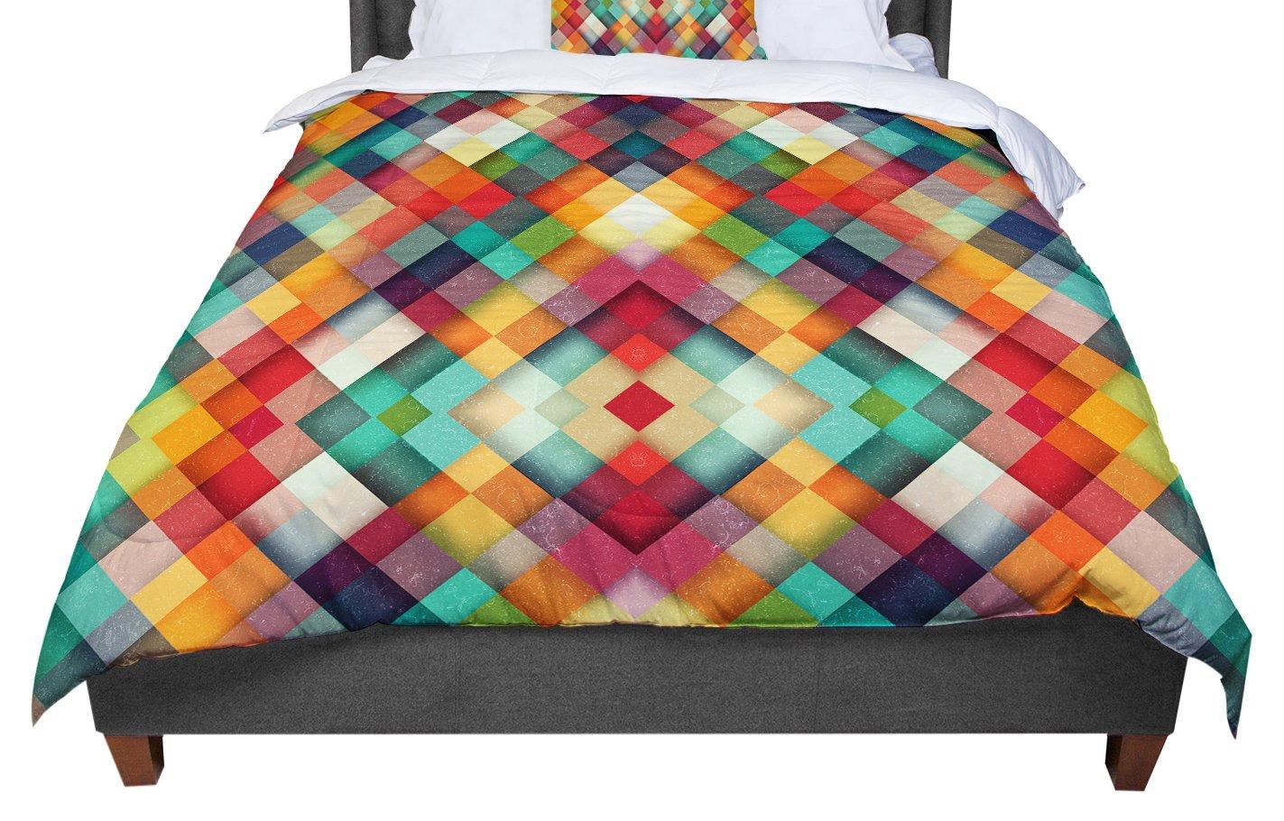 KESS InHouse Danny Ivan Time Between Geometric Abstract Twin Comforter 68 X 88