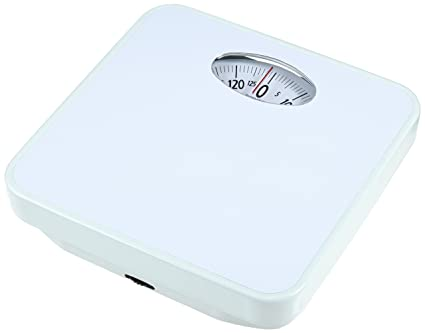 Laica EP1130 - Bascula baño mecanica EP1130 blanca