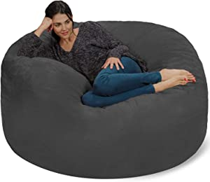 Chill Sack Bean Bag Chair: Giant 5′ Memory Foam Furniture Bean Bag