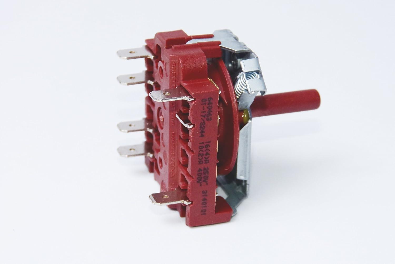 Selector horno Teka 4 posiciones HC495 HI435 HI535 HM535 640463: Amazon.es: Bricolaje y herramientas