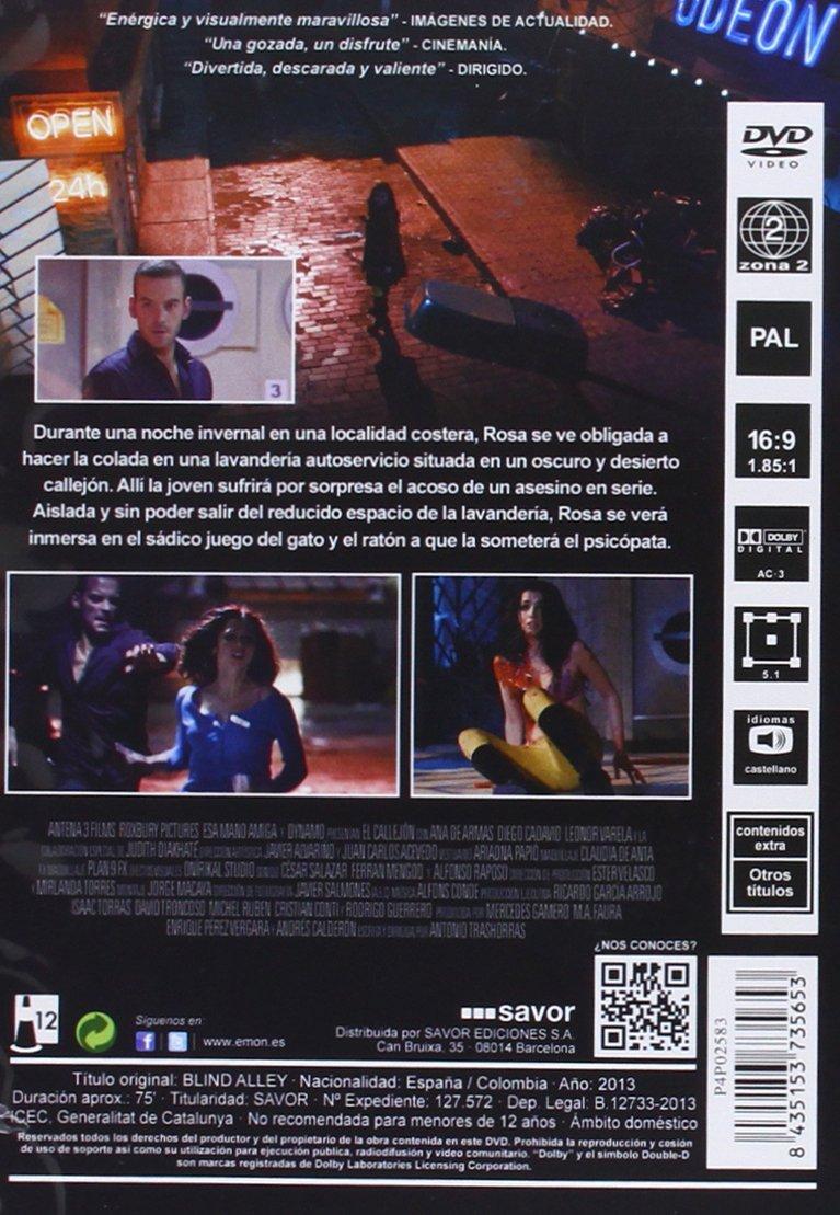 El Callejón [DVD]: Amazon.es: Ana De Armas, Diego Cadavid ...