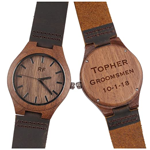 Amazon Personalized Anniversary Gift For Him Mens Wood