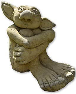 Big Ears Goblin Troll Stone Garden Ornament Original Design