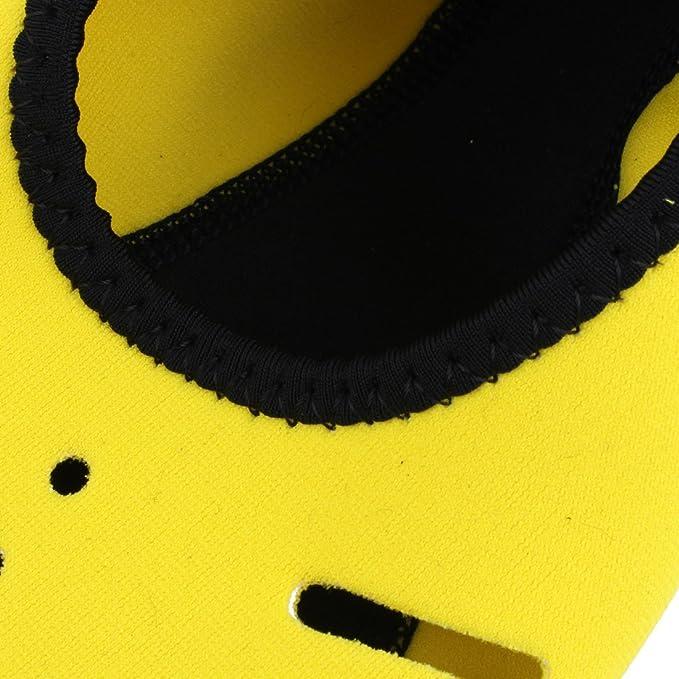 Amazon.com : eDealMax neopreno Actividades acuáticas piel Scuba Snorkeling buceo Calcetines Calzado voleibol de Arena de natación M amarillas : Sports & ...