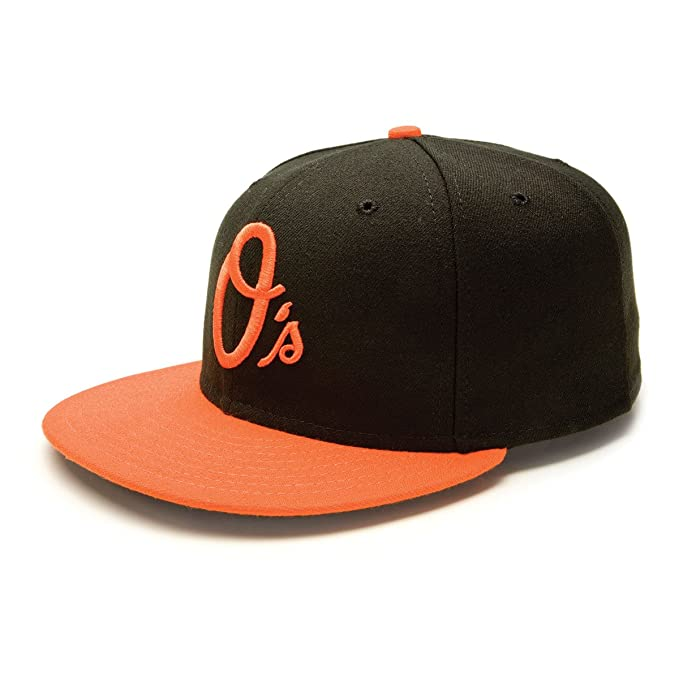 New Era Mlb Authentic Houston Astros Alternative 59fifty 5950 Fitted Cap Orange Kappe Men