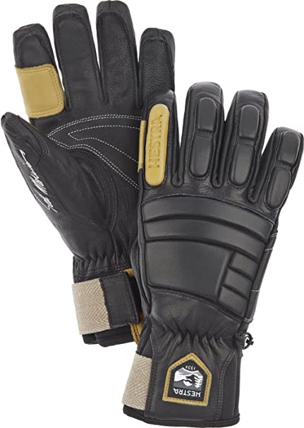 Hestra Waterproof Ski Gloves  Mens and Womens Pro Model Leather Winter  Gloves 2d2f48589657