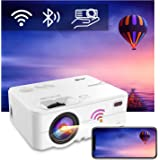Artlii Enjoy 2 Mini Portable Projector, Bluetooth WiFi 1080P Supported, 300'' Display, Keystone, Zoom, Phone Screen Miracast,
