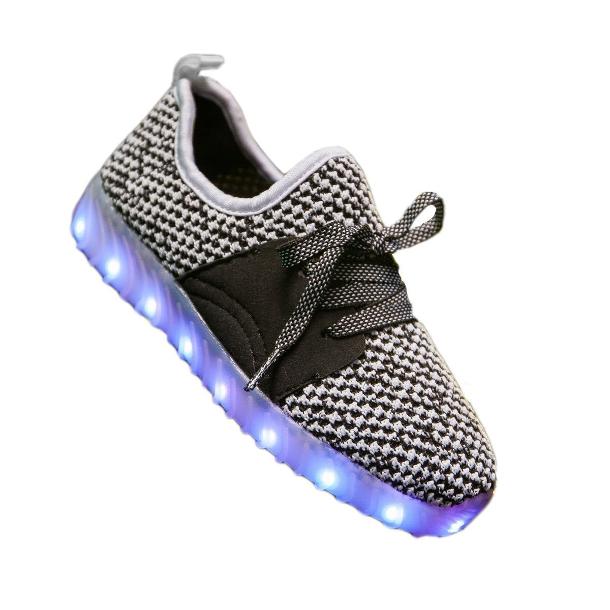 FG21ds21g Colorful LED Light Up Running Shoes for Kids USB Charging Flashing Sneakers Toddler//Little Kid//Big Kid