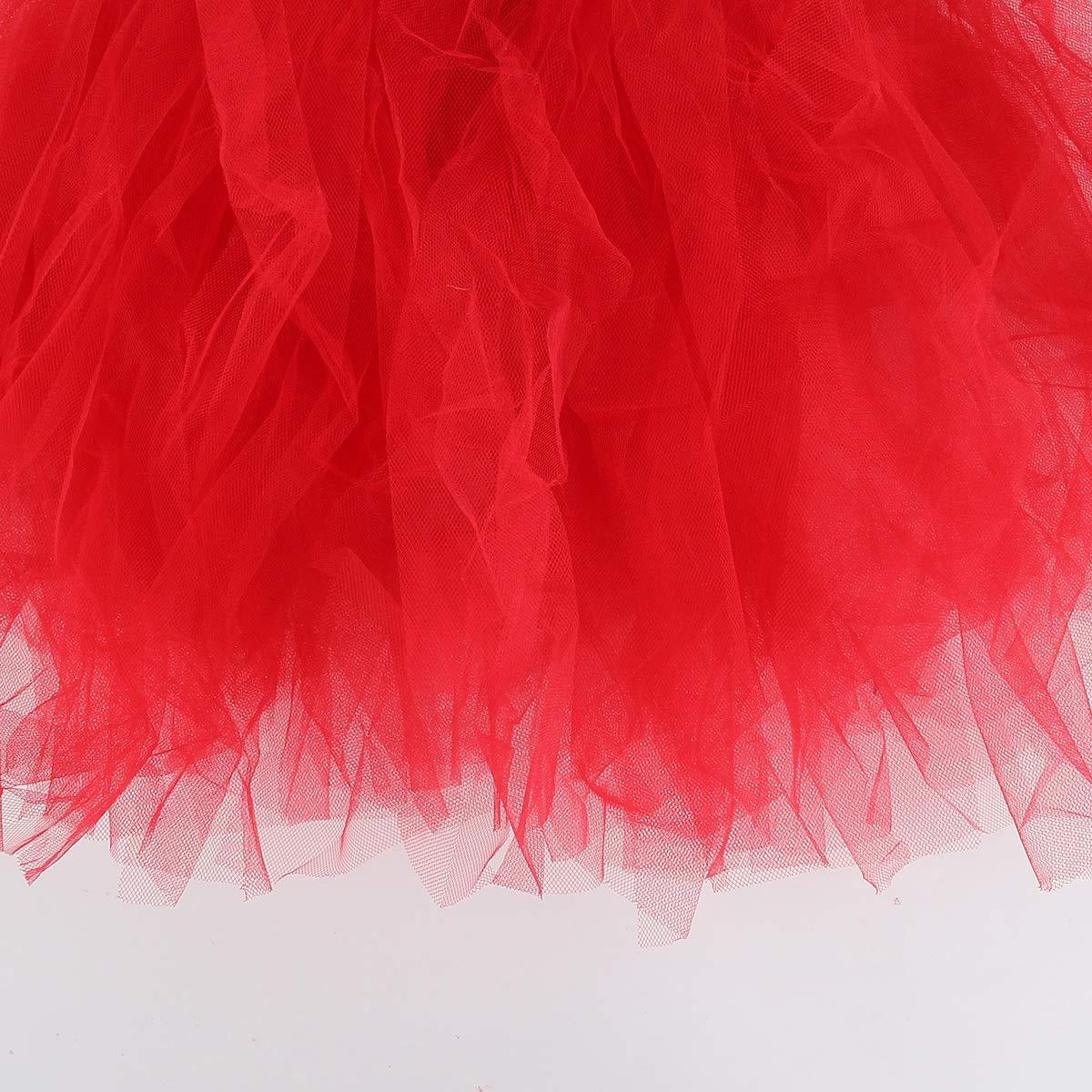 Leyeet Mother /& Daughter Family Matching Mesh Tutu Parent-Child Women Kid Girl Bubble Skirt Color : Pink Mom