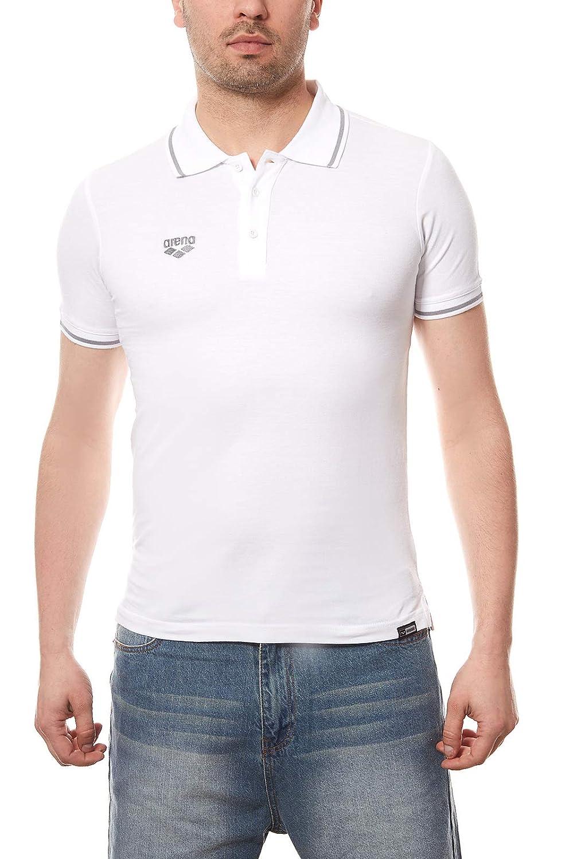 arena Chassis Polo de Hombre Blanco 3783510, tamaño:S: Amazon.es ...