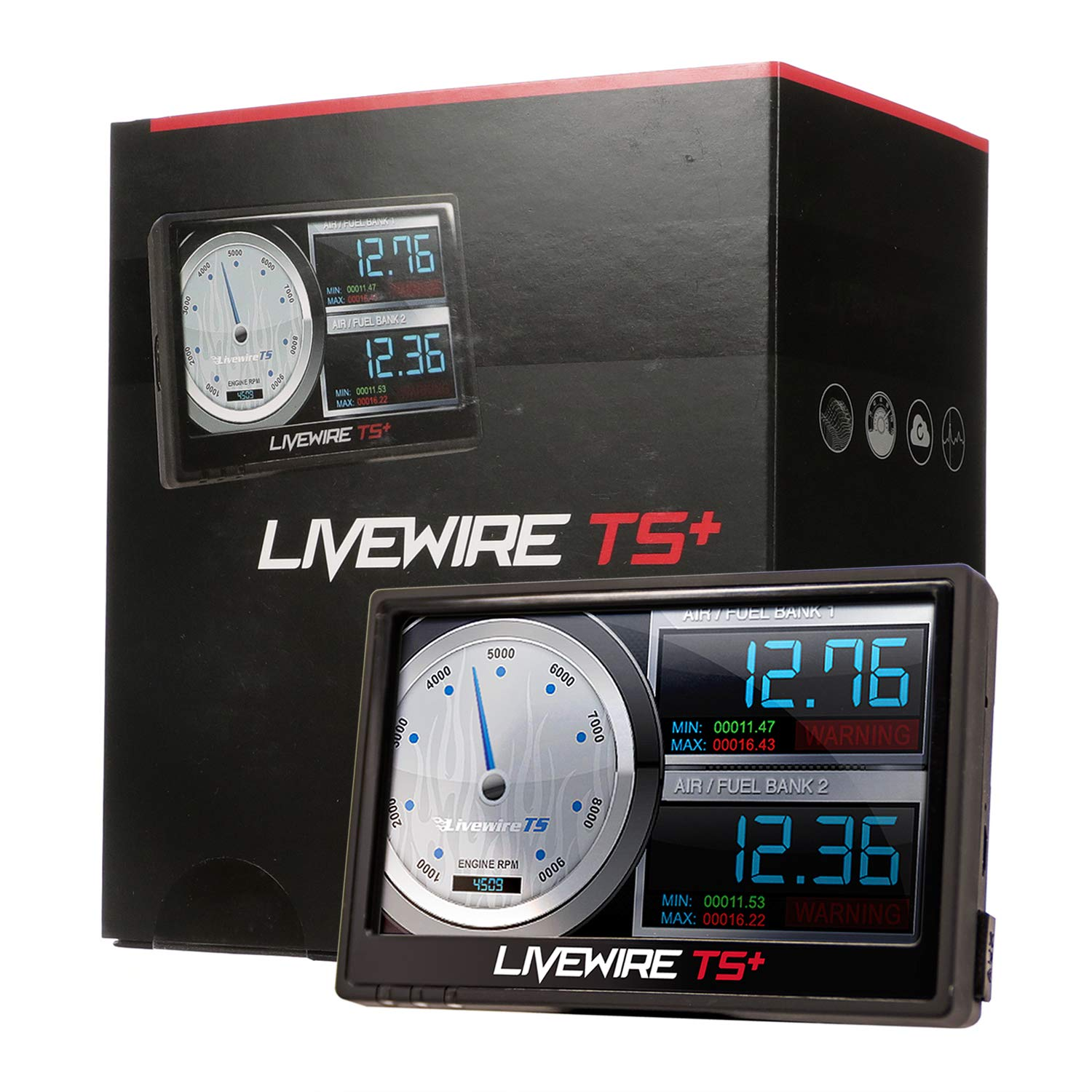 4. SCT Performance - 5015P - Livewire TS+ Performance Tuner and Monitor for 3.5 Ecoboost
