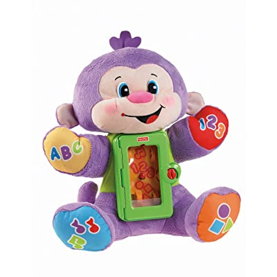 Fisher-Price Laugh & Learn Apptivity Monkey: Toys & Games