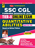 KIRAN'S SSC CGL TIER II ONLINE EXAM QUANTITATIVE ABILITIES OBJECTIVE TYPE ENGLISH