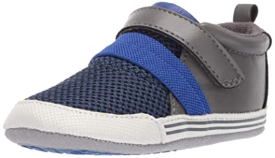 5f864fff Amazon.com | Ro + Me by Robeez Kids' Jake Athletic Crib Shoe | Shoes