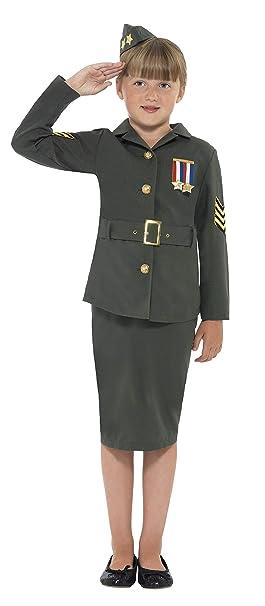 Smiffys Mondiale Militaire Enfant 41104m Seconde Déguisement Guerre SAS0q