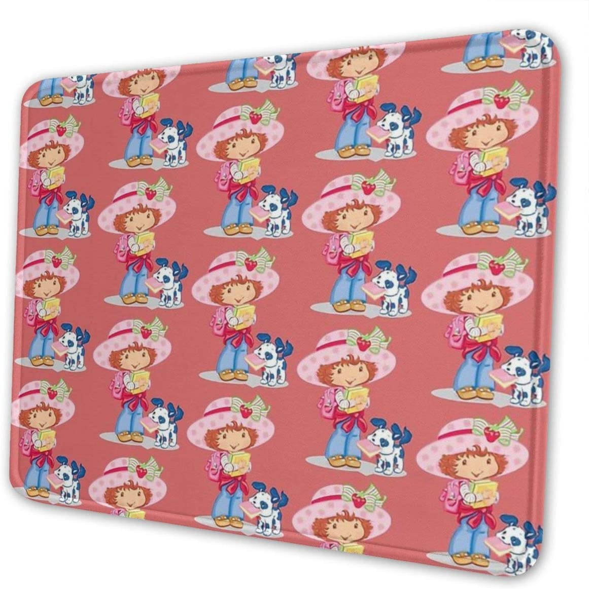 Strawberry Shortcake and Your Dog Mouse Pad Multi Code Anti Skid Rubber Game Mouse Pad is Suitable for Computer Notebook