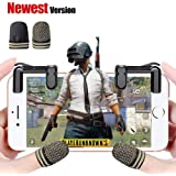 Mobile Game Controller(Newest Version), FengNiao Sensitive Shoot and Aim Buttons L1R1 for Fortnite PUBG/Knives Out/Rules of Survival, PUBG Mobile Game Joystick, Cell Phone Game Controller for Android IOS1 Pair