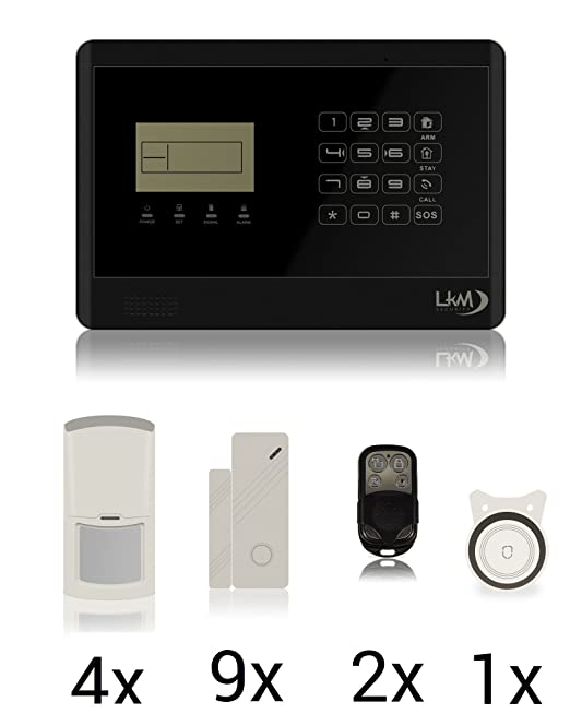 2 opinioni per LKM Security WG-YL007M2E+8S+4PIR_01 Kit M2E Antifurto Allarme Casa Wireless