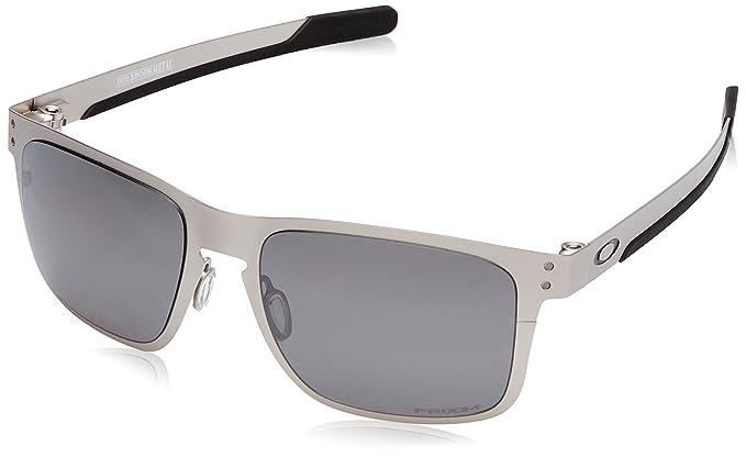 Oakley Holbrook Metal, Gafas de Sol para Hombre, Plateado, 55: Amazon.es: Ropa y accesorios