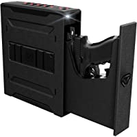 Vaultek Slider Series Rugged Smart Handgun Safe Quick Auto-Open Sliding Door Pistol Safe with Rechargeable Li-ion Battery