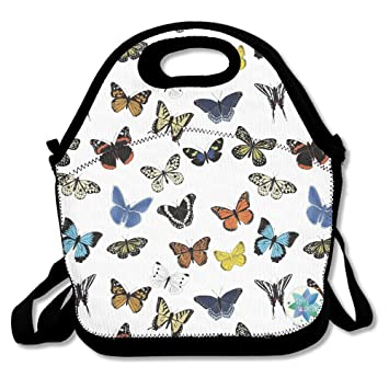 dasenco Butterfly Colorful Fancy 100% poliéster cremallera ...