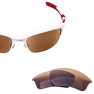 b5c58b0fdb LenzFlip Lenses Compatible with Oakley HALF JACKET 2.0 XL - Brown at ...