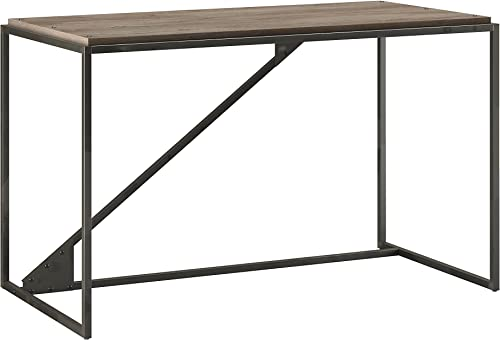Bush Furniture Refinery 50W Industrial Desk in Rustic Gray