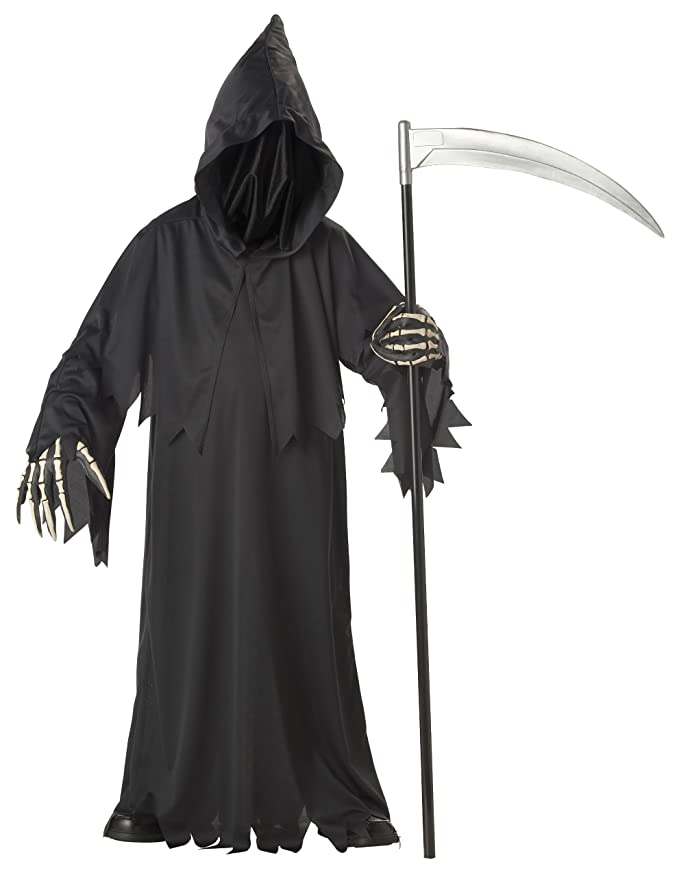 Amazon.com: California Costumes Toys Grim Reaper Deluxe: Clothing