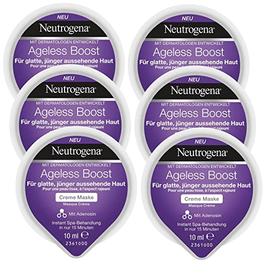 Neutrogena Ageless Boost Crema Máscara - 6 Unidades x 10 ml ...