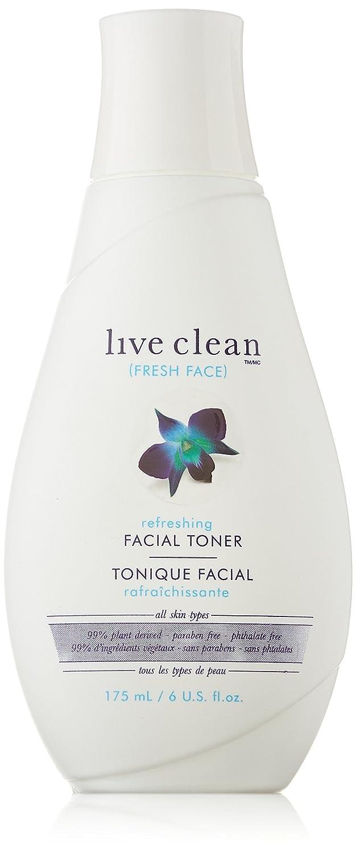Live Clean Fresh Face Refreshing Facial Toner