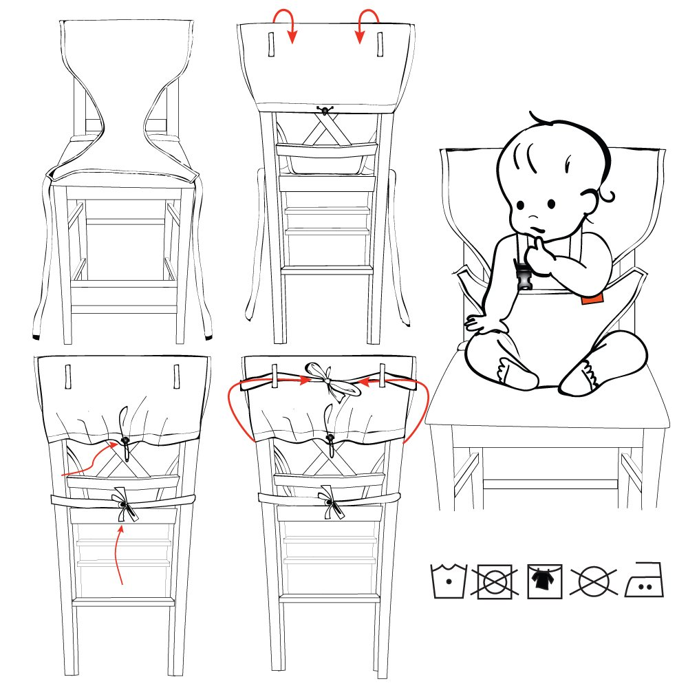 Pocket Full of Posies, 6-36 Months My Little Seat The Travel Highchair