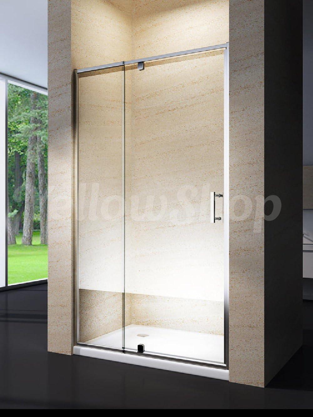 Yellowshop. Cabina de ducha/ baño. Puerta de mampara batiente y ...