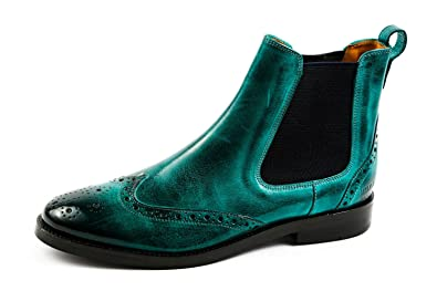 size 40 accdc 49cae Melvin & Hamilton Womens Amelie 5 Chelsea Boots Turquoise ...