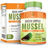 Green Lipped Mussel - 500mg - Maximum Strength Supplement for Men & Women AND Dogs & Cats- 90 Capsules (3 Months Supply) by Earths Design