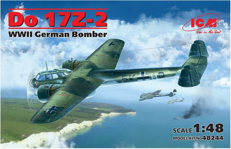 ICM 1/48 ドルニエDo17Z-2 爆撃機 プラモデル B014KNDUKY